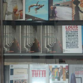 la vetrina di Libreria Al Segno di Mauro Danelli, Pordenone