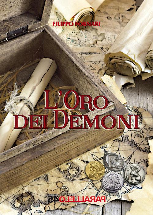 """copertina """"L'oro dei demoni"""""""