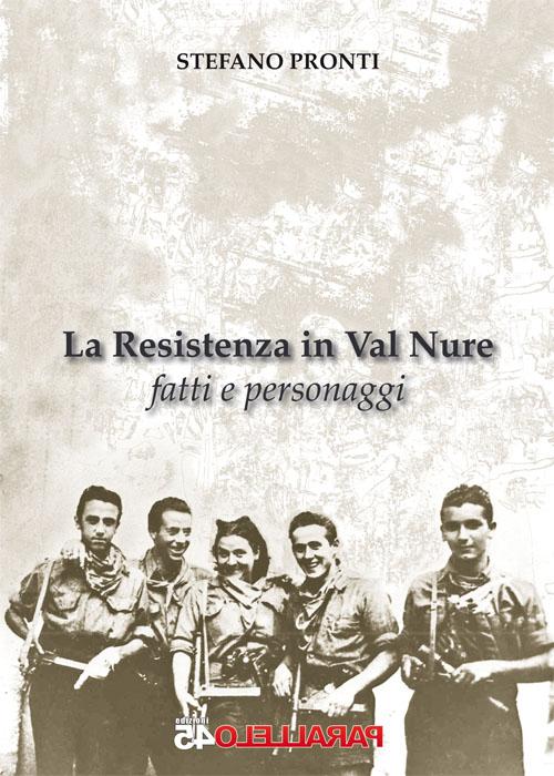 """copertina de """"La resistenza in Val Nure"""""""