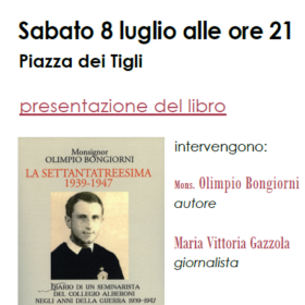 """Evento – Presentazione del libro """"La settantatreesima 1939-1947"""""""
