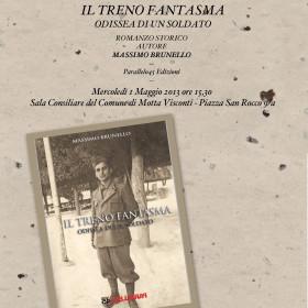"""Presentazione de """"Il Treno Fantasma"""", di Massimo Brunello"""