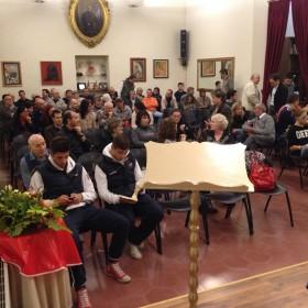 Pietro Rebecchi racconta il suo viaggio all'inferno alla Famiglia Piasinteina